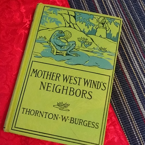 Vintage 1940s Mother West Wind Hardcover